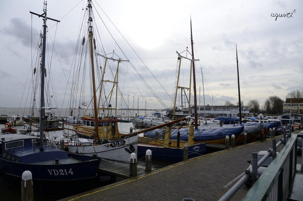 Volendamm - port pesquer