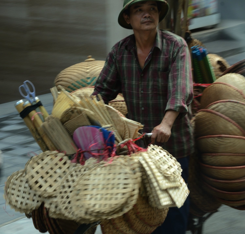 la bicicleta com transport - Hanoi