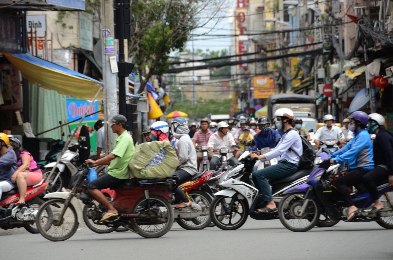 trafic caotic -Hanoi
