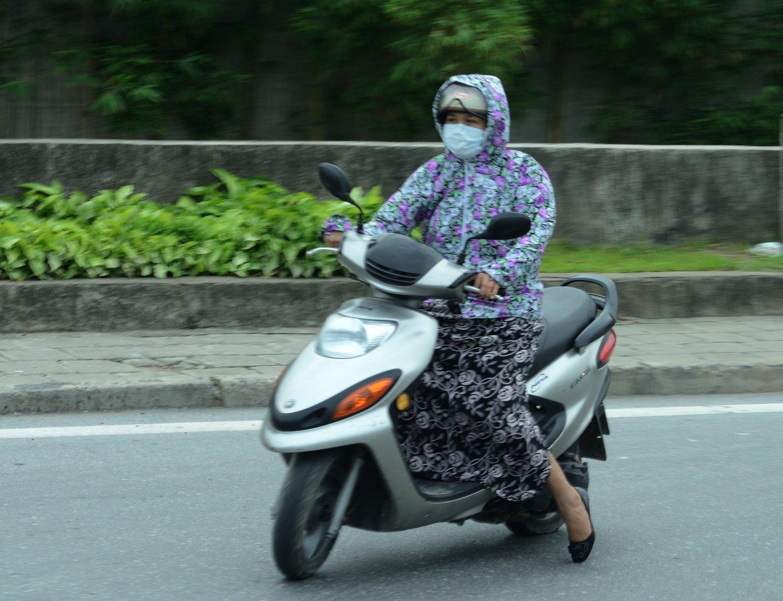 proteccio solar i de contaminació - Hanoi