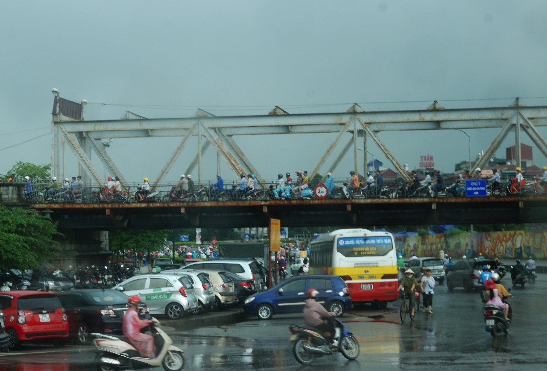 trafic caotic - Hanoi