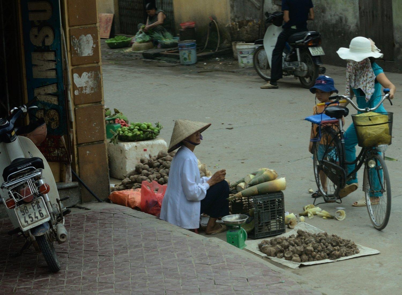 venta directa al carrer - voltans de Hanoi
