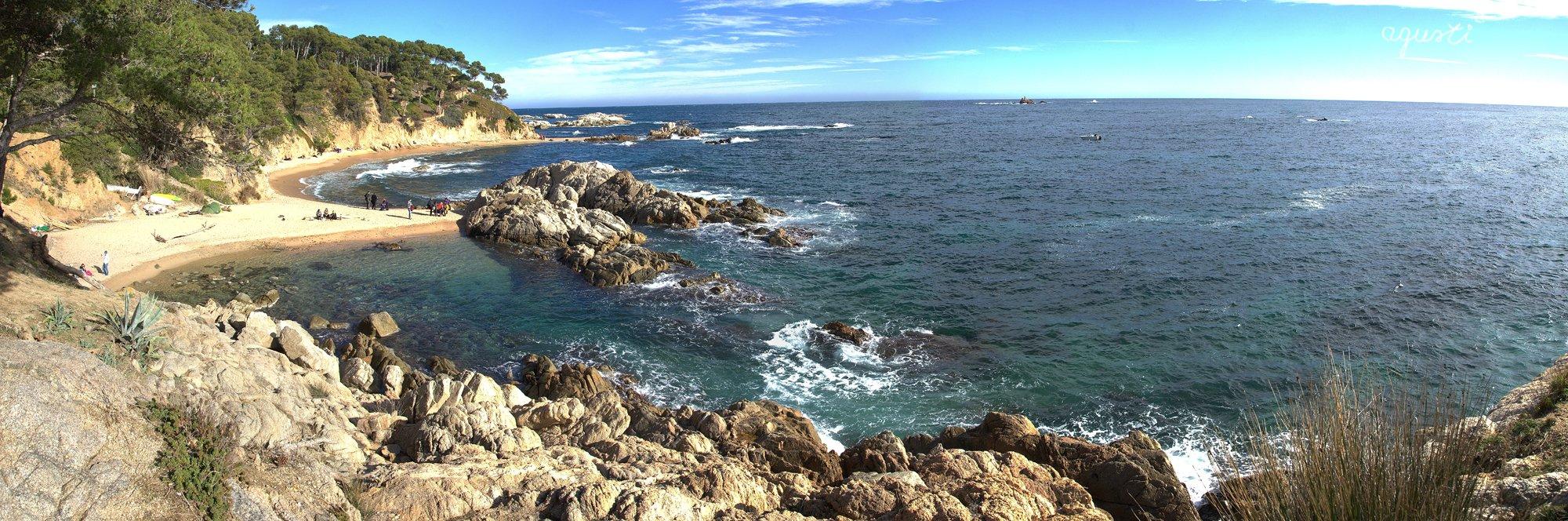 Panoramica Cala Estreta - Palamos